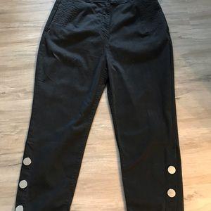 ZARA Black Denim Pants. Sz Xl